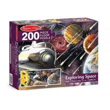 Melissa & Doug 18909 Puzzle podłogowe - odkryj kosmos