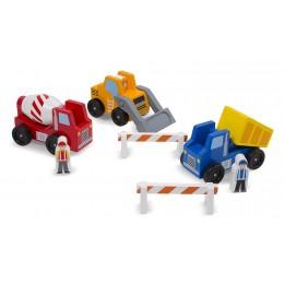 Melissa & Doug 10656 Zestaw pojazdów budowlanych