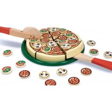 Melissa & Doug Drewniana Pizza do Krojenia 10167