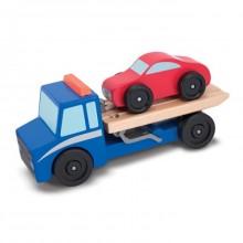 Melissa & Doug Drewniany Samochód Laweta 14543
