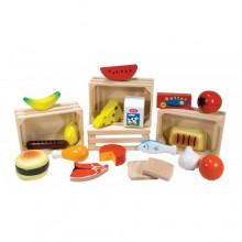 Melissa & Doug 10271 Drewniane Produkty Spożywcze