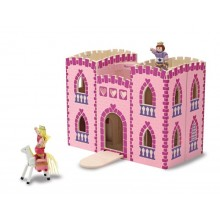 Melissa & Doug 13708 Drewniany Zamek dla Dziewczynki