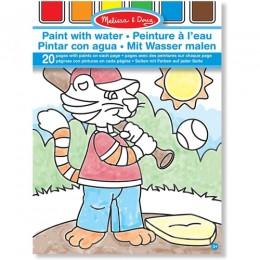 Melissa & Doug 13763 Kolorowanka na Wodę Zwierzęta