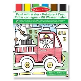 Melissa & Doug 14164 Kolorowanka na Wodę Pojazdy