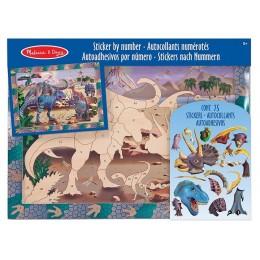 Melissa & Doug Mozaika do Wyklejania Dinozaury 14007