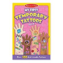 Melissa & Doug Zestaw 100 Tatuaży dla Dziewczynki 12946