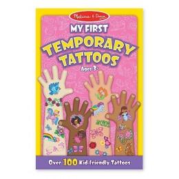 Melissa & Doug 12946 Zestaw 100 Tatuaży dla Dziewczynki