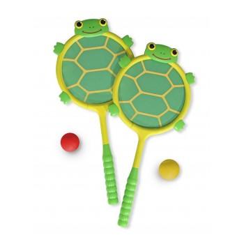 Melissa & Doug 16165 Paletki do Gry Żółwie