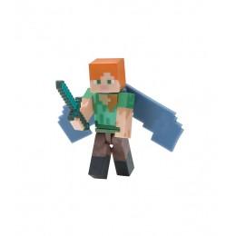 Minecraft - Zestaw figurek - Alex i skrzydła Elytry - 16492