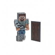 Minecraft - Zestaw figurek - Steve w kolczudze - 16493