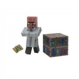 Minecraft - Zestaw figurek - Bibliotekarz (Librarian) i zaklęte książki - 16496
