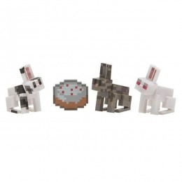 Minecraft - Zestaw figurek - Króliki 16497