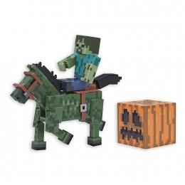 Minecraft - Figurka Zombie z koniem - 16603