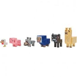 Minecraft - Zestaw sześciu figurek - Małe zwierzęta 16612