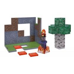 Minecraft - Brzozowy Las Birch Forest - Zestaw z figurką Wiedźmy 16652
