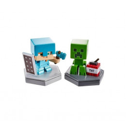 Minecraft GKT41 GKT43 Figurki Alex i Creeper