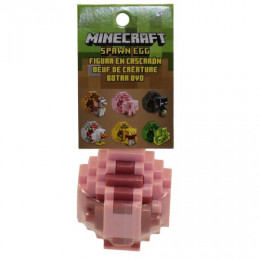 Minecraft - Spawn Egg - Jajko z figurką – Świnka - FMC85