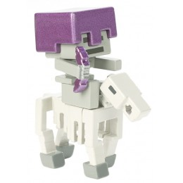 Minecraft - Szkielet na koniu - Figurka FVH08 FVH12