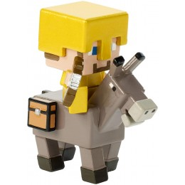Minecraft - Steve na osiołku - Figurka FVH08 FVH14