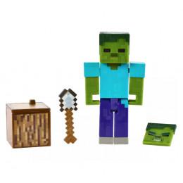 Minecraft – Zombie - Figurka z dodatkami - GCC11 GCC19