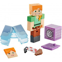 Mattel Minecraft - Figurka z akcesoriami - Alex i Elytra GCC26