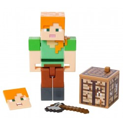 Minecraft – Figurka Alex z akcesoriami GCC12