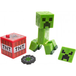 Mattel Minecraft - Figurka z akcesoriami - Creeper GCC14