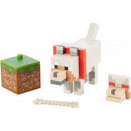 Mattel Minecraft - Figurka z akcesoriami - Wilk GCC21