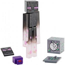 Mattel Minecraft - Figurka z akcesoriami - Teleportujący się Enderman GCC27