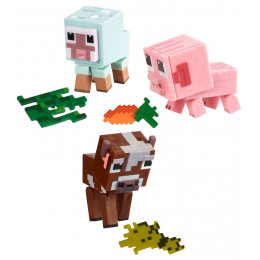 Minecraft - Zestaw figurek - Zwierzątka hodowlane GFY78