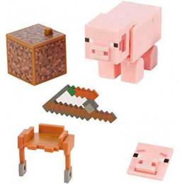 Mattel Minecraft - Figurka z akcesoriami - Świnia GGP94