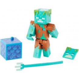 Mattel Minecraft - Figurka z akcesoriami - Utopiec Drowned GGP95