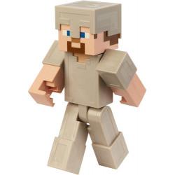 Minecraft – Duża ruchoma figurka – Steve w żelaznej zbroi – GGR04