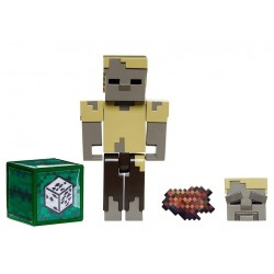 Minecraft – Figurka Husk Posuch z akcesoriami GLC72