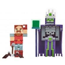 Minecraft Dungeons – Zestaw figurek: Hal i Bezimienny GND39
