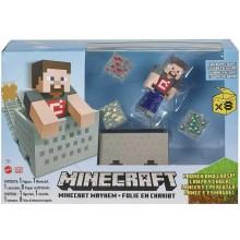 Minecraft – Mayhem + figurka Steve'a GVL55