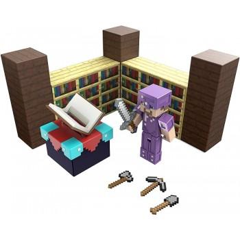 Minecraft – Pokój do zaklinania – Zestaw figurka z akcesoriami GYB62