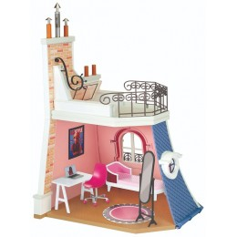 Miraculous – Domek dla lalek - pokój Marinette z balkonem i akcesoriami – 50660