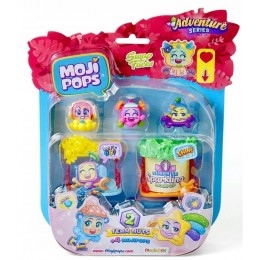 Moji Pops – Adventure – 2 Team Huts + 4 figurki MP04U0201