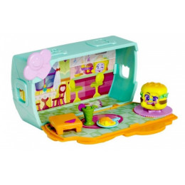 Moji Pops - Club House - Domek klubowy + figurka – FOODIES MP03U1101