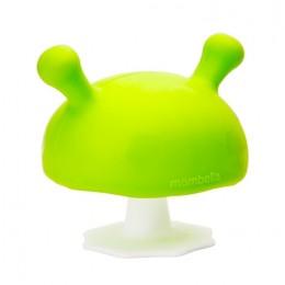 Mombella - Gryzak silikonowy - Grzybek Mushroom - zielony P8053