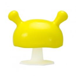 Mombella - Gryzak silikonowy - Grzybek Mushroom - żółty P8054
