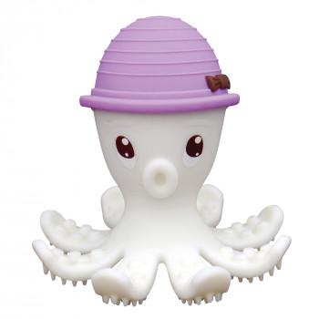 Mombella - Gryzak silikonowy - Ośmiornica w kapeluszu fioletowym - P8033