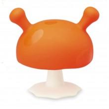 Mombella - Gryzak silikonowy - Grzybek Mushroom - pomarańczowy P8055