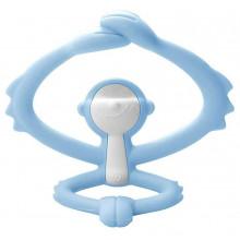 Mombella - Gryzak silikonowy - Małpka niebieska P8081-2