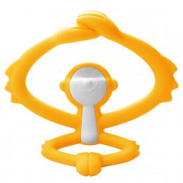 Mombella - Gryzak silikonowy - Małpka żółta P8081-3