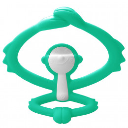 Mombella - Gryzak silikonowy - Małpka zielona P8081-1
