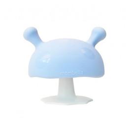 Mombella - Gryzak silikonowy - Grzybek Mushroom - niebieski P8101