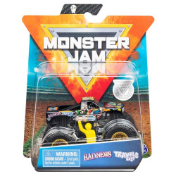 Samochód Monster Jam – Badnews Travels Fast 1:64 – 6895