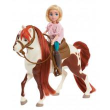 Mustang Spirit: Riding Free - Abigail i Boomerang - Figurka i koń 39052